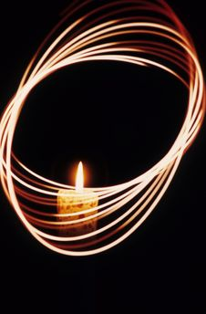 Free Candle Blur Royalty Free Stock Photography - 4362887