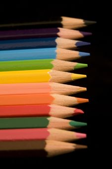 Free Coloured Pencils Stock Images - 4362894