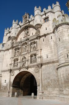 Free Burgos Medieval Fortress Stock Photography - 4363302