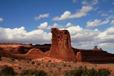 Free Arches National Park Stock Images - 4363354