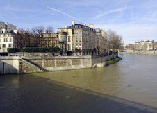 Free France, Paris; Winter City View Stock Photography - 4363392