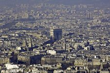 Free France, Paris; Sky City View Stock Photography - 4363652