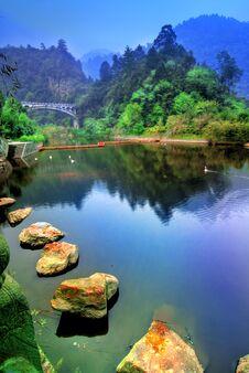 Free Lake In China Stock Images - 4363704