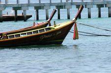 Free Thai Boat Royalty Free Stock Image - 4364106