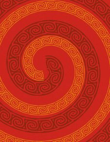 Free Abstract Red Swirl Background Stock Image - 4364441