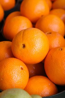Free Oranges In A Basket Stock Photos - 4365183