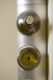 Free Wine Rack Stock Photography - 4366022