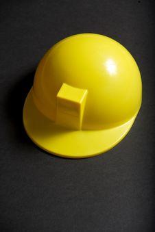 Yellow Hard Hat Royalty Free Stock Photography