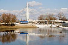 Free Bridge Over The River Royalty Free Stock Photos - 4366218
