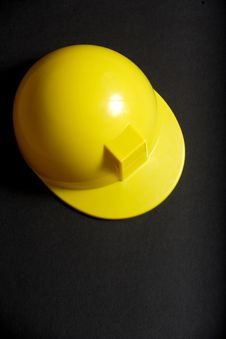 Yellow Hard Hat Stock Photography