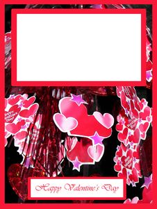 Free Valentines Decoration Frame Stock Image - 4366261