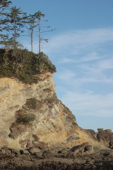 Free Sunset Bay Cliffs Royalty Free Stock Photos - 4366538