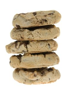Free Chocolate Chip Cookies Royalty Free Stock Photography - 4366667