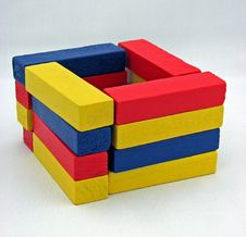 Free Coloured Blocks Royalty Free Stock Image - 4366716