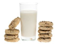 Free Chocolate Chip Cookies Stock Photos - 4366743