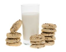 Free Chocolate Chip Cookies Royalty Free Stock Photography - 4366747