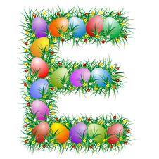 Free Easter Letter - E Stock Images - 4366764