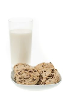 Free Chocolate Chip Cookies Stock Images - 4366824