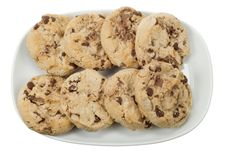 Free Chocolate Chip Cookies Royalty Free Stock Photo - 4366835