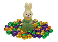 Free Cute Easter Bunny Stock Image - 4366931