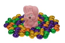 Free Cute Easter Bunny Royalty Free Stock Images - 4366949