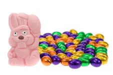 Free Cute Easter Bunny Stock Image - 4366951