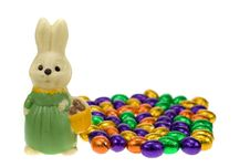 Free Cute Easter Bunny Stock Photography - 4366952