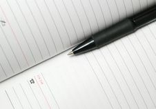 Free Pen From Above Stock Images - 4367944