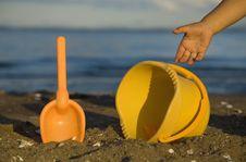 Free Beach Playground Royalty Free Stock Image - 4368416