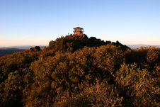 Free Mount Tam Fire Tower Stock Photo - 4368450