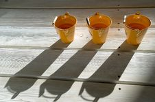 Free Shadows On A Wooden Floor. Royalty Free Stock Photos - 4369348