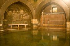 Old Public Baths Interior Royalty Free Stock Photos