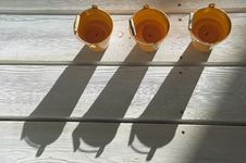 Free Shadows On A Wooden Floor. Royalty Free Stock Photos - 4369388