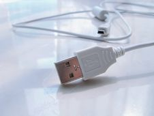Free Usb Wire Head Royalty Free Stock Photo - 4369435