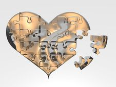 Free The Broken Heart Stock Photography - 4369442