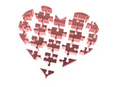 Free The Disassembled Heart Stock Photography - 4369452