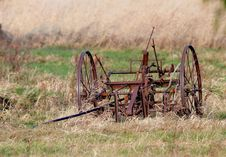Old Harvesting Equipment Royalty Free Stock Photos