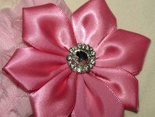 Free Satin Pink Flower Royalty Free Stock Photo - 43625165