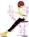 Free Fashion Girl Royalty Free Stock Images - 43639159