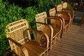 Free Wicker Chairs Stock Photo - 4371600