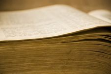 Free The Ancient Book Royalty Free Stock Photo - 4370185