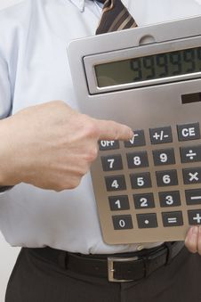 Free Pocket Calculator Stock Image - 4370481