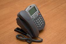 Free Modern Digital IP Phone Stock Photography - 4370642