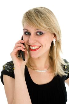 Free Business Woman Calling Stock Images - 4370984