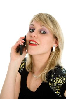 Free Business Woman Calling Stock Images - 4371134