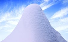 Free Snow Hill. Royalty Free Stock Images - 4371579