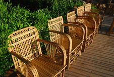 Free Wicker Chairs Stock Photo - 4371600