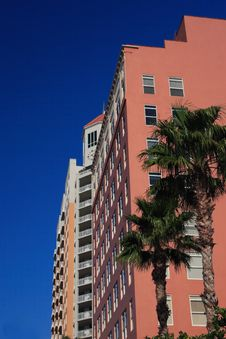 Free Highrise Apartment Building Stock Image - 4371741