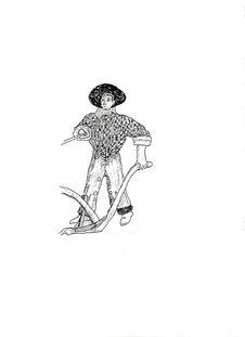 Free Illustration Of Farmer. Stock Photo - 4372570