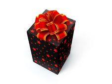 Free BOX With BOW Stock Image - 4372591